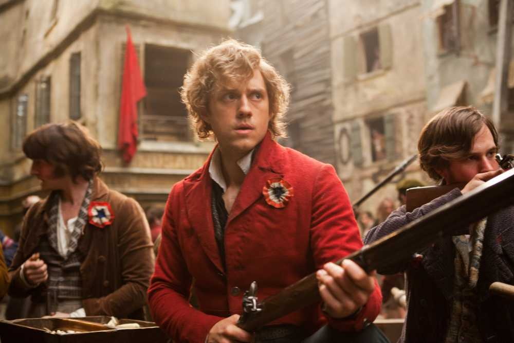 From the movie: Enjolras leads the Parisian Republicans in revolt