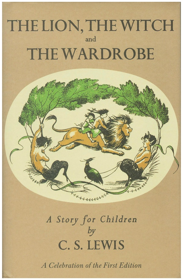 Original book cover of The Lion, The Witch and the Wardrobe