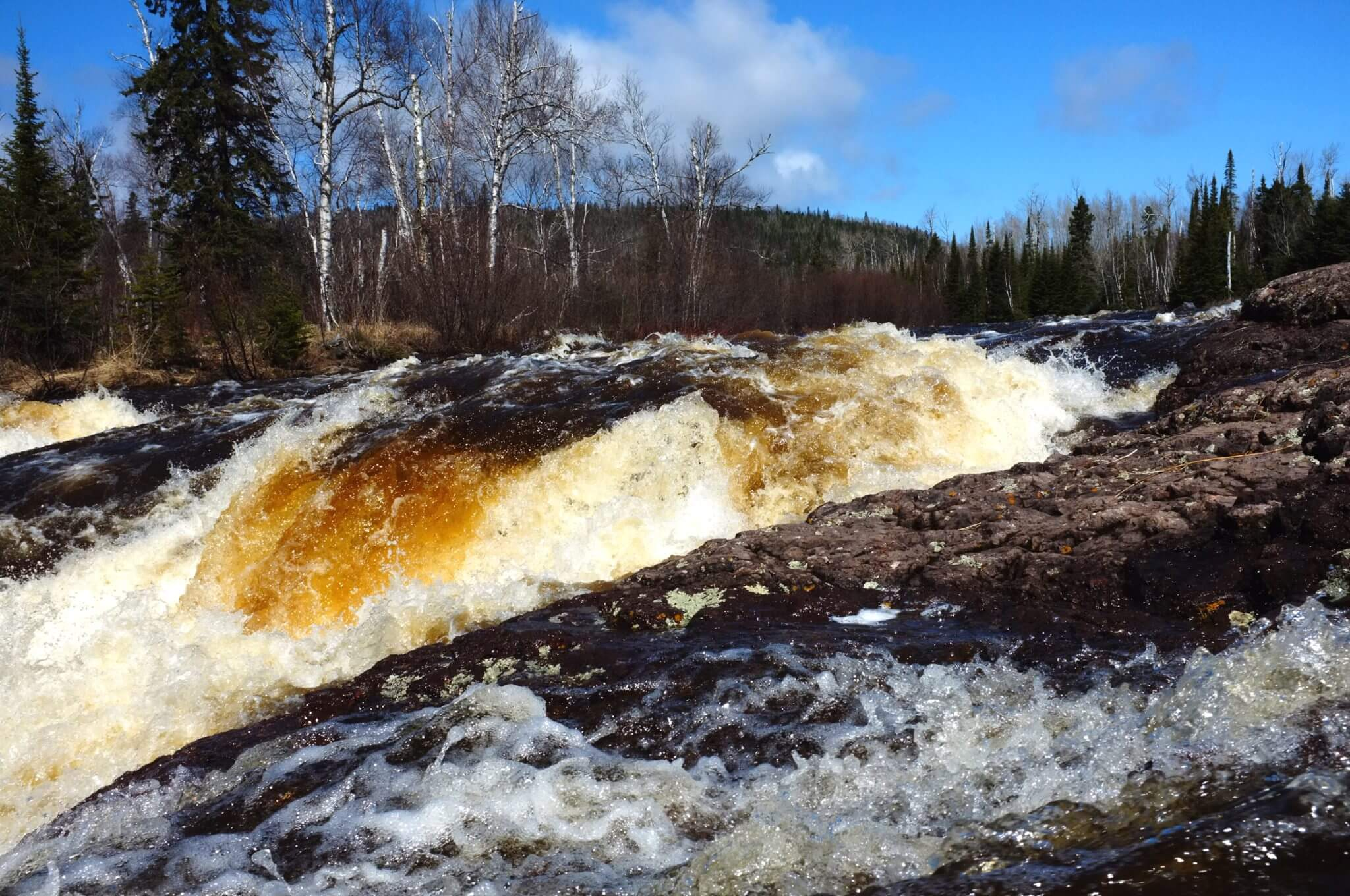 Temperance River rapids